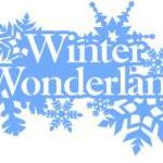 Winter Wonderland Vinyl Decal
