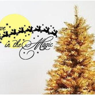 Christmas Magic Vinyl Wall Art