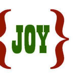 Joy Vinyl Decal